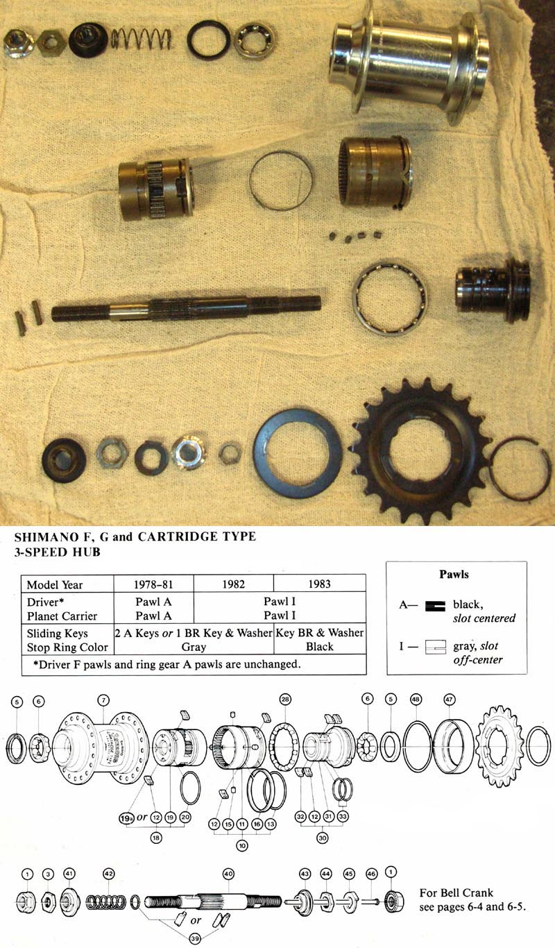 Shimano Internal Gear Hub Service Alfine Di2 Wiring Diagram 3sc Three Speed Coaster Brake