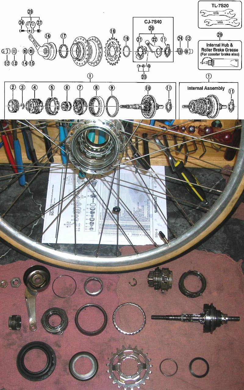 Shimano Internal Gear Hub Service Alfine Di2 Wiring Diagram