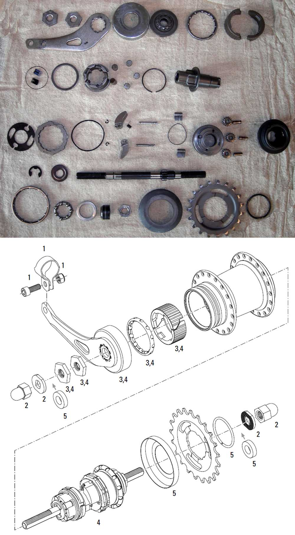 Sram    Sachs Internal Gear Hub Service